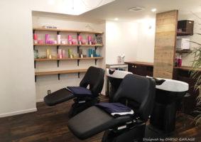 Lib hair 町田 / Designed by OHESO GARAGE