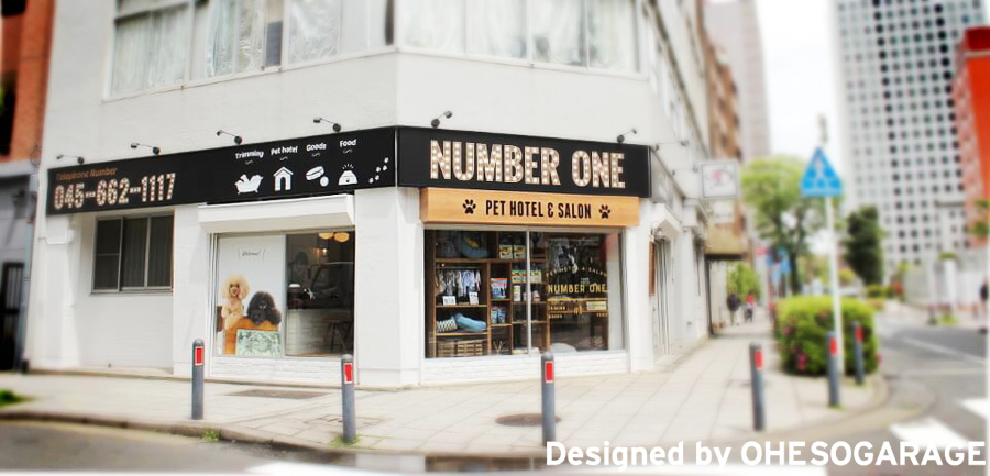 NumberONE / 横浜・馬車道 / 店舗デザイン 本厚木 / designed by OHESO GAREGE
