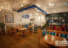 Divingshop&Cafe Gillman / 相模大野 / Designed by OHESO GARAGE