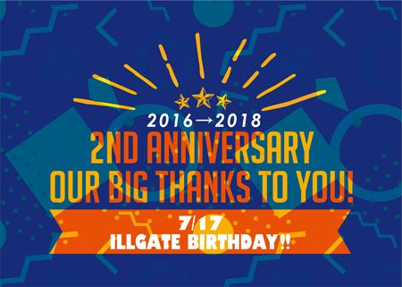 ILLGATE ebina 2YEARS CAMPAIGN
